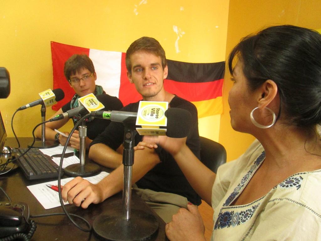 Rockfun-Reporter Christian Michel und Anne-Kirstin Berger haben ein weltwärts-Jahr gemacht und ein Jahr in einem peruanischen Radio gearbeitet.