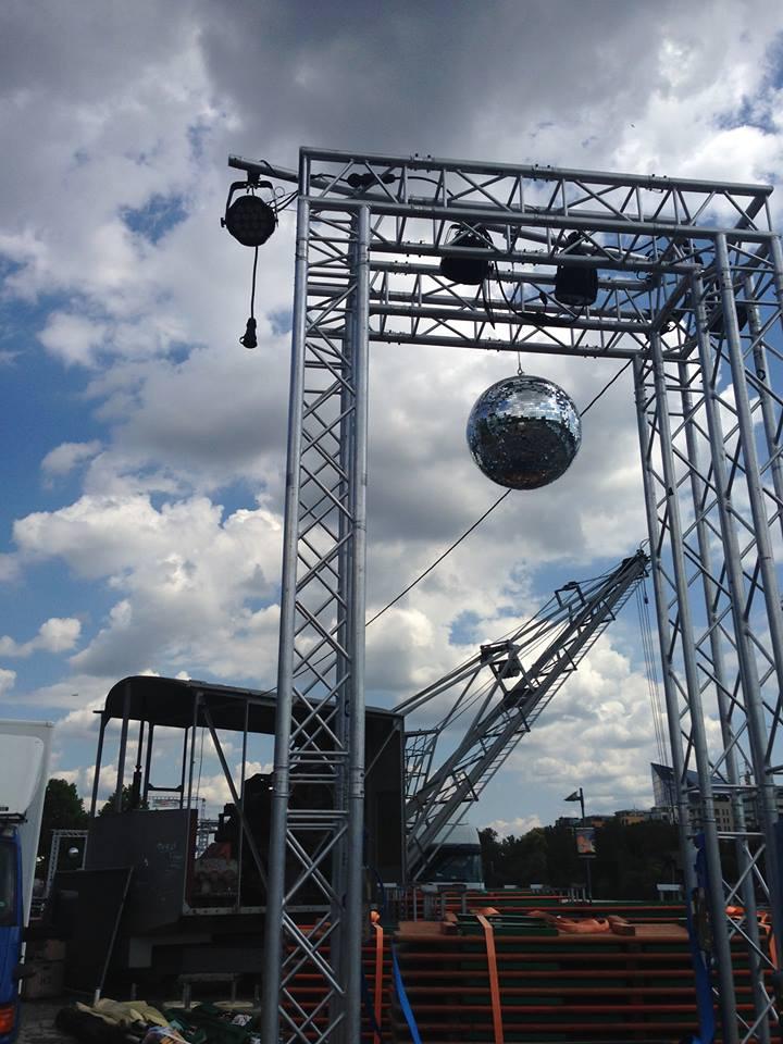 Die Openair-Bühne