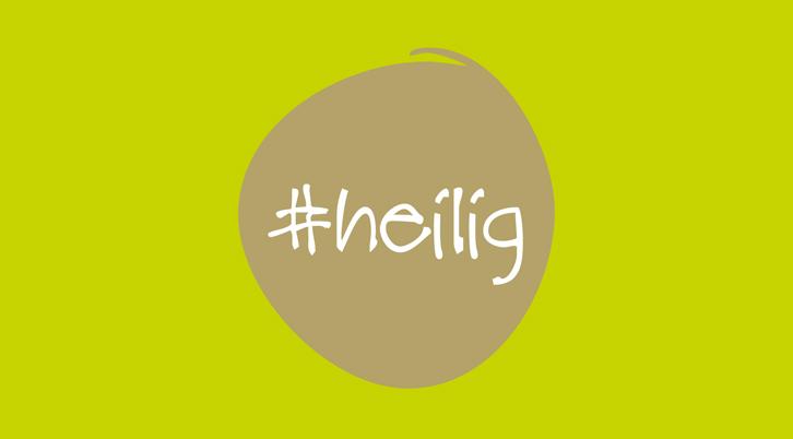 Logo Sonderausstellung #heilig