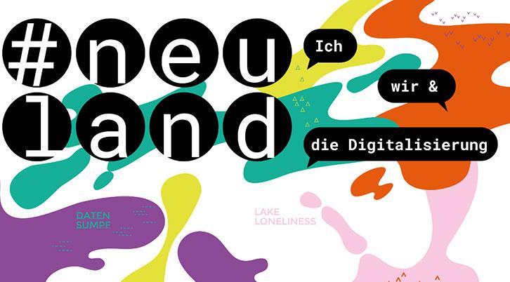 Logo Sonderausstellung #neuland
